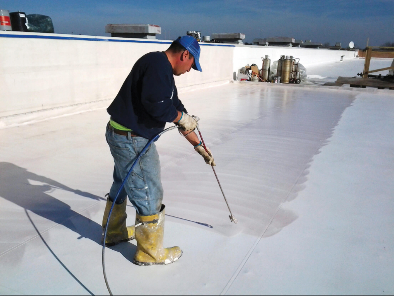 Commercial Roof Repair in Lafayette