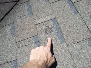 Hail Damage Roof